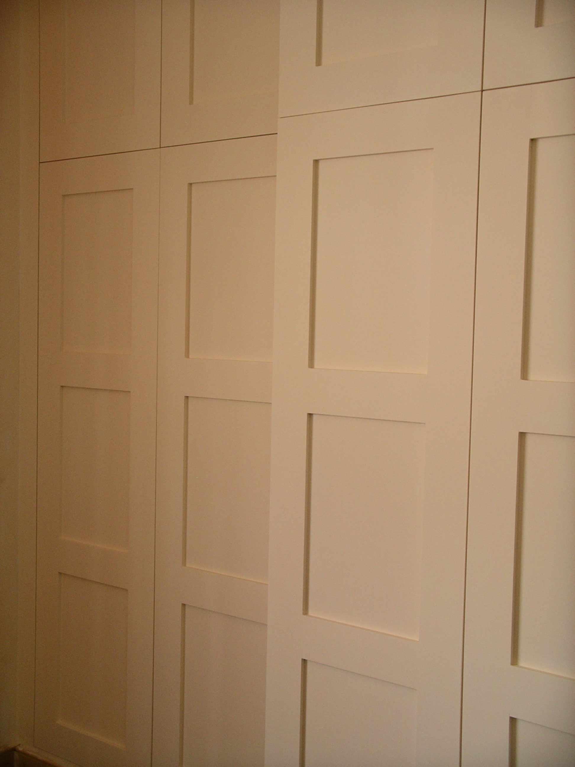 Paneled Door Wardrobe Bespoke Made By Peter Henderson