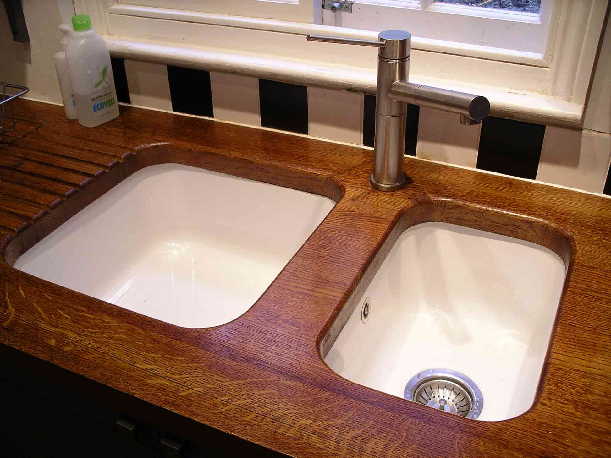 Zinc Worktop Kitchen Handmade By Peter Henderson Furniture