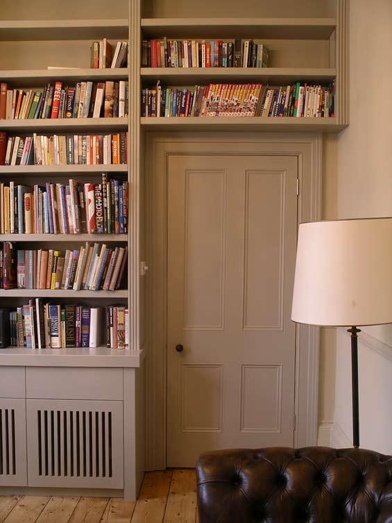 Custom Built Music Room Bookcase And Equipment Storage