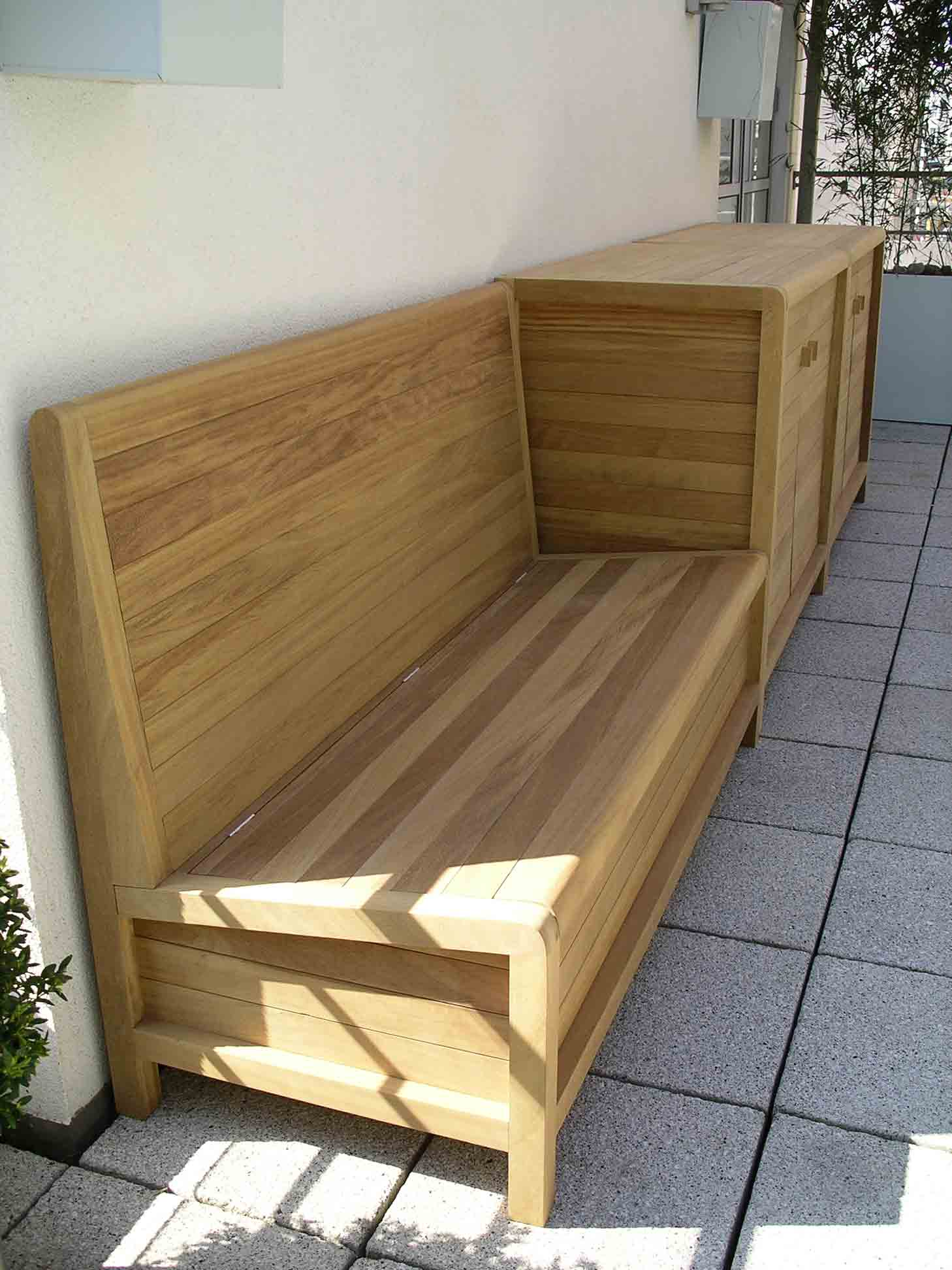 Iroko Hardwood Patio Furniture By Peter Henderson