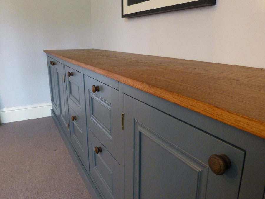 Oak And Downpipe Custom Made Cabinet By Peter Henderson