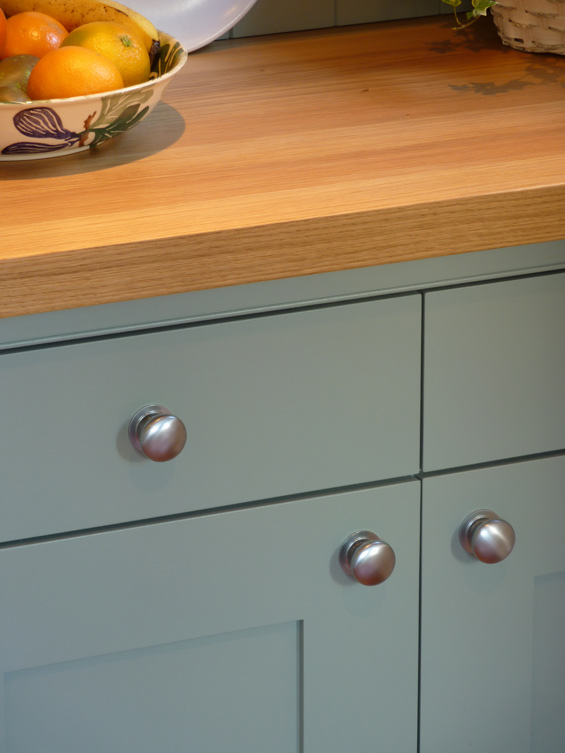 custom made welsh dresser for bespoke painted Shaker kitchen