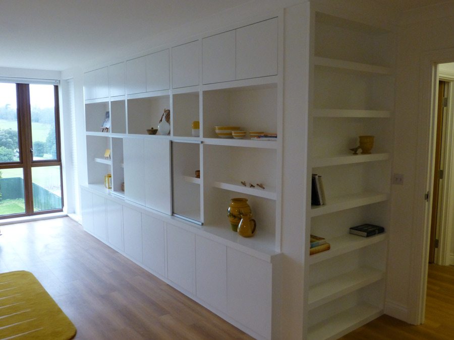 TV cabinet-bookcase custom made by Peter Henderson Furniture ...