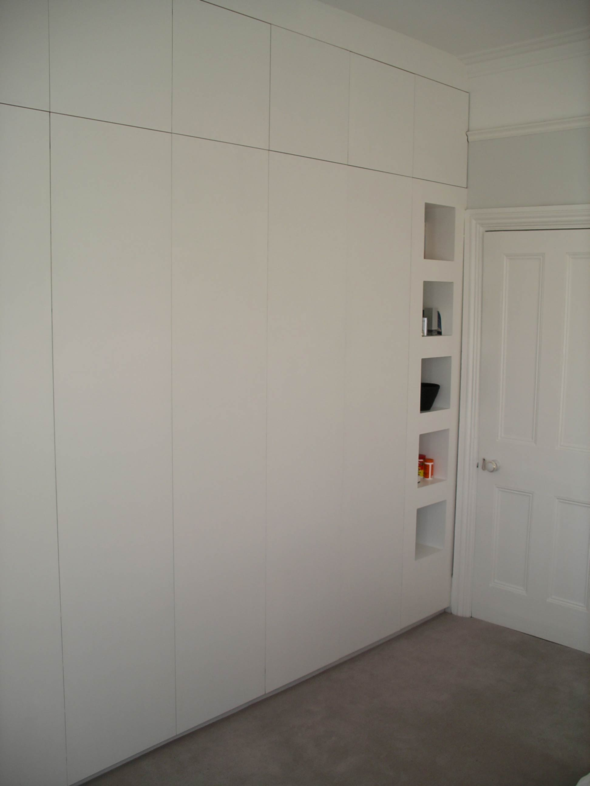 Wall To Wall Wardrobe By Peter Henderson Furniture Brighton Uk
