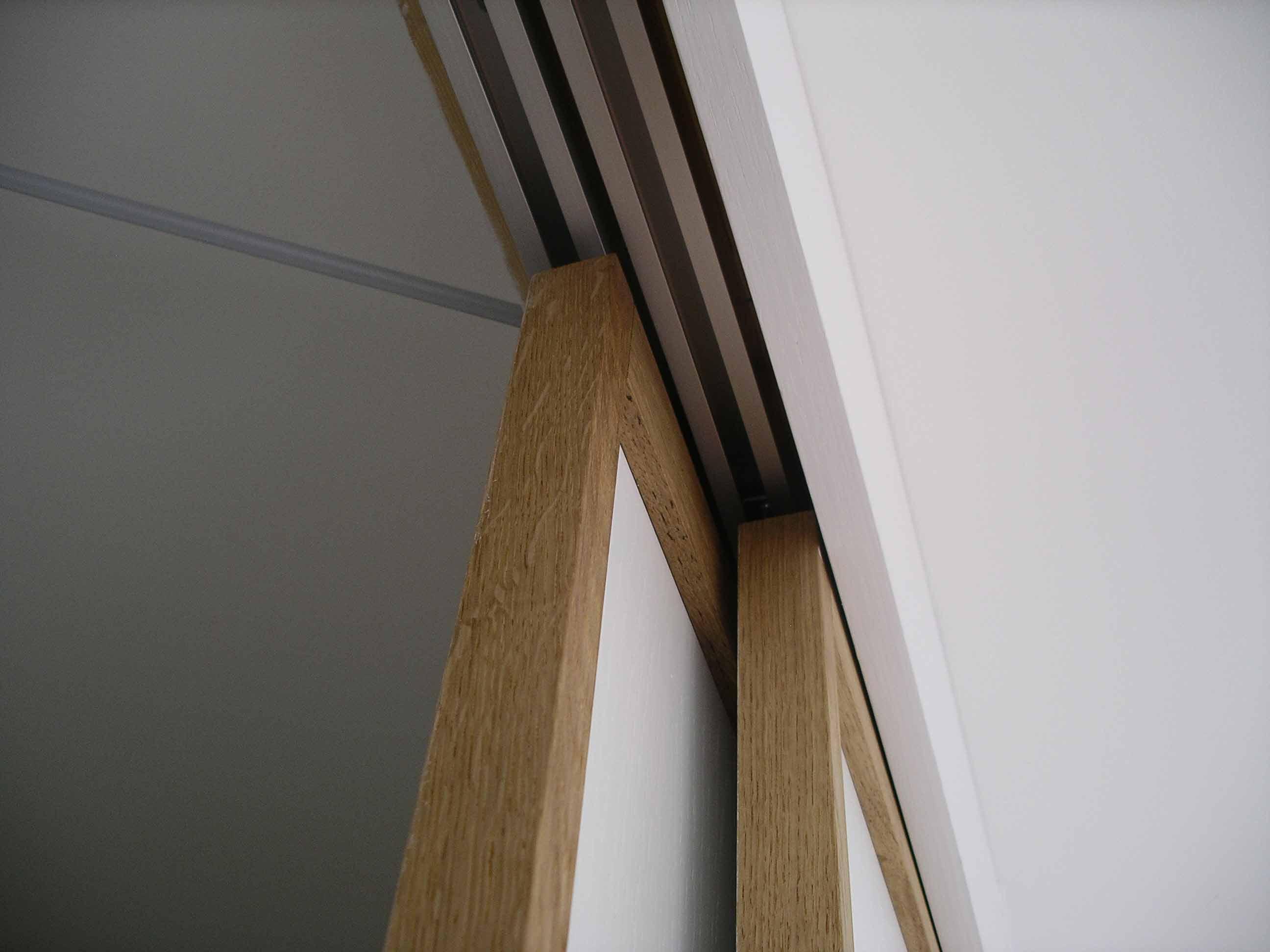 Japanese sliding doors bespoke made wardrobe by peter for Pareti giapponesi scorrevoli