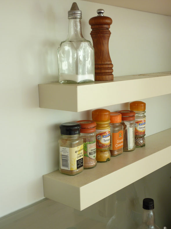 Floating Shelf Contemporary Design Kitchen Handmade By