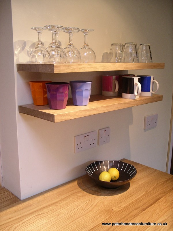 Oak And French Grey Kitchen Bespoke Design By Peter