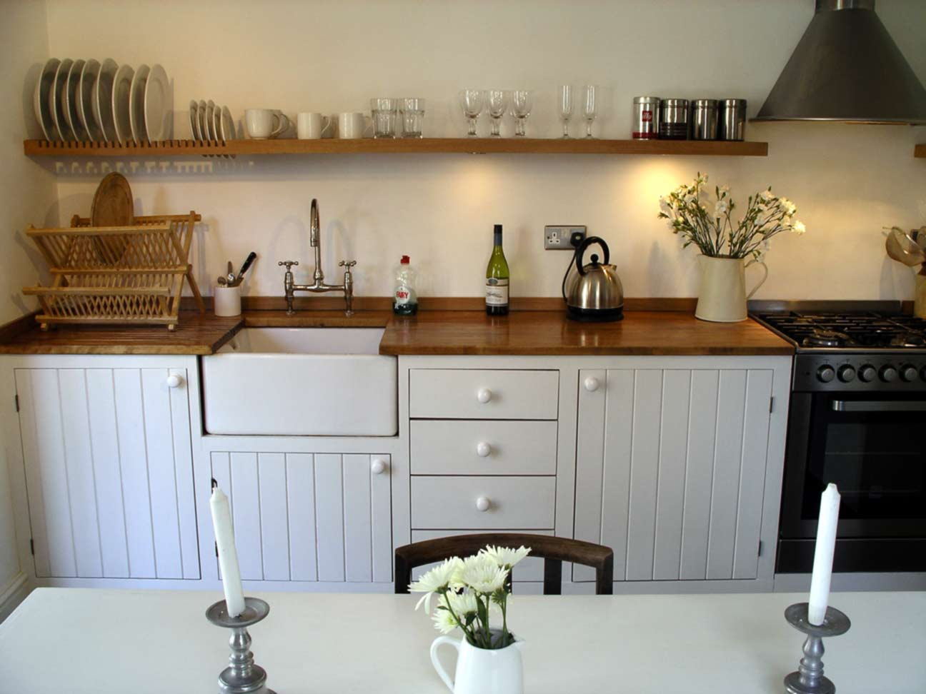 modern rustic kitchen hand built by Peter Henderson Furniture ...