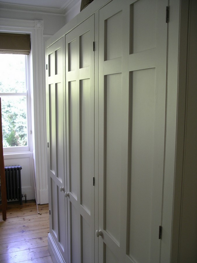 Period wardrobes handmade by peter henderson furniture for Modern built in cupboards