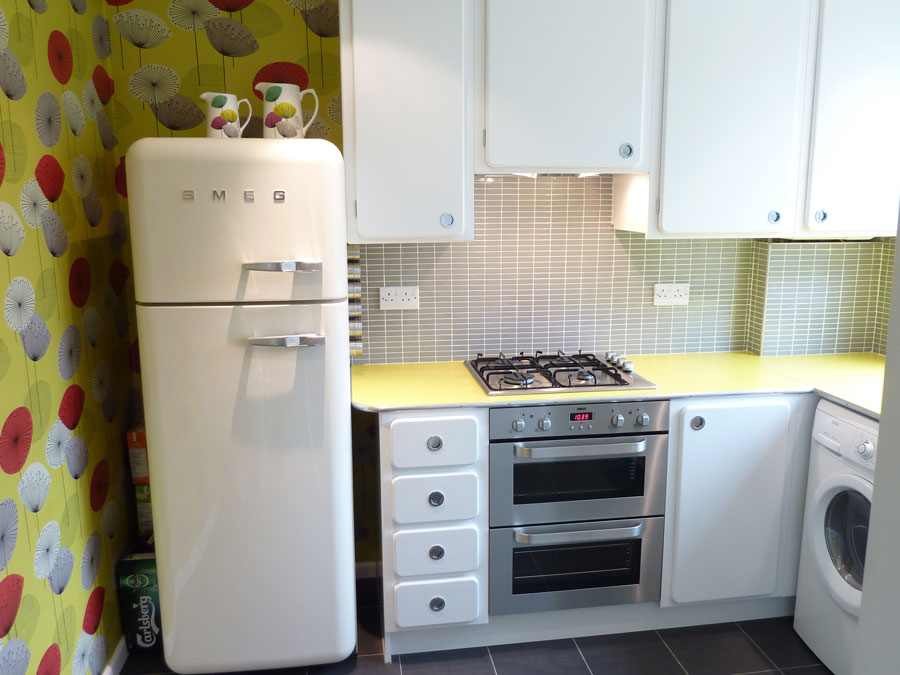 Retro 1950\'s kitchen custom made by Peter Henderson ...