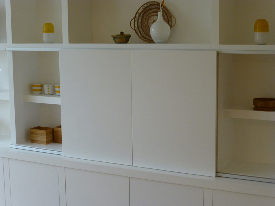 Floor To Ceiling Kitchen Cabinets Uk tv cabinet-bookcase custom madepeter henderson furniture