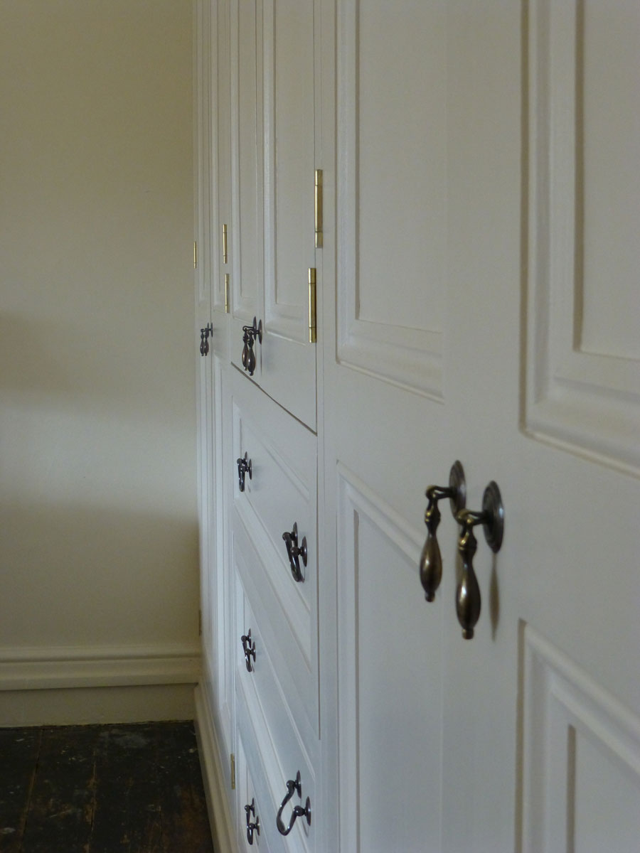 Victorian Style Fitted Wardrobe By Peter Henderson