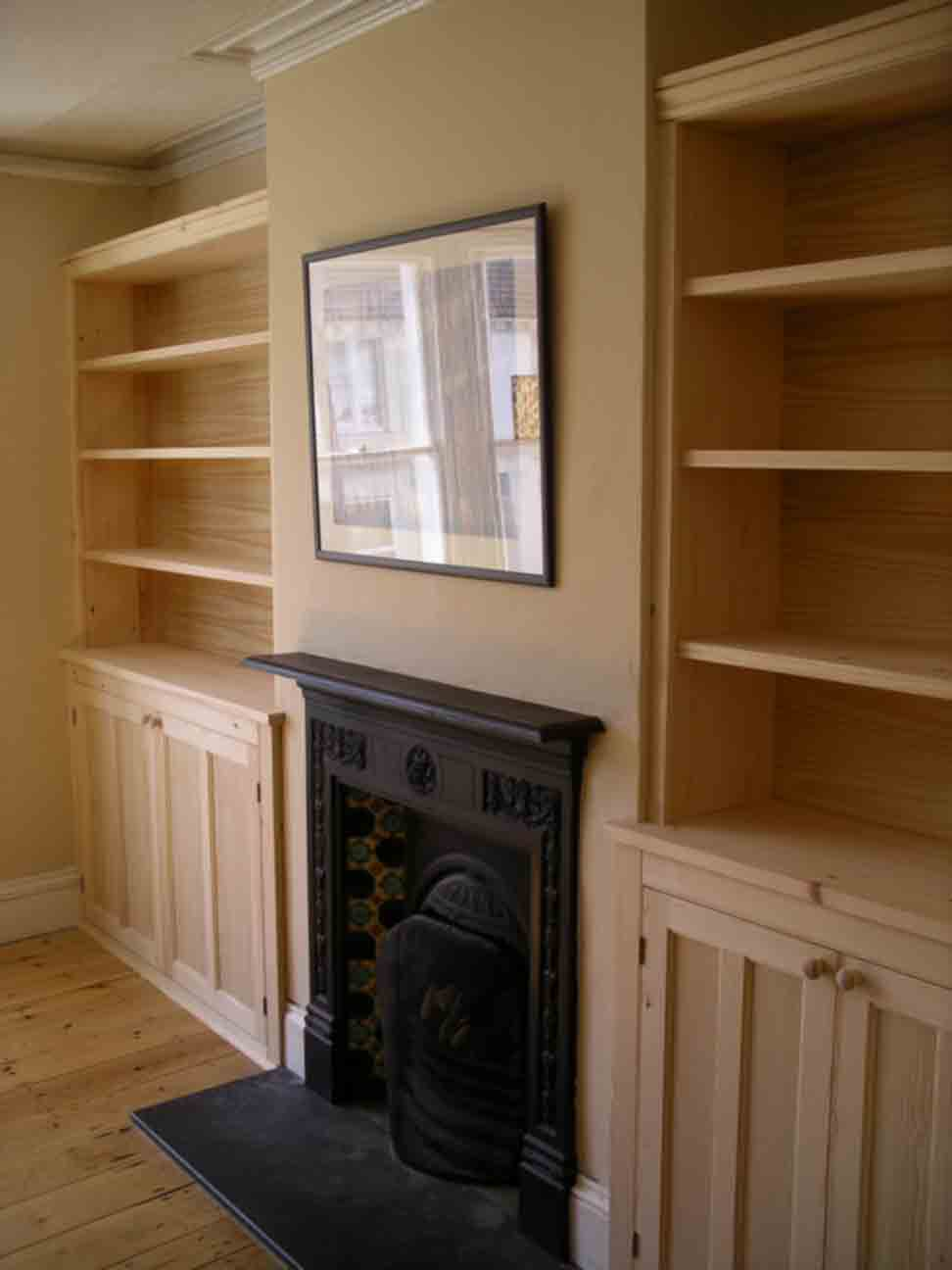 Fitted Bookcases By Peter Henderson Furniture Brighton UK